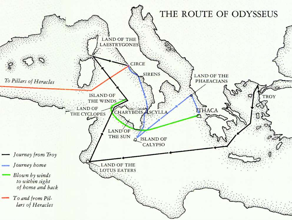 Essay On Odysseus Journey